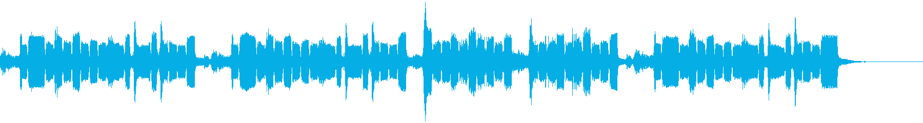 CMソング風スイングBGMの再生済みの波形