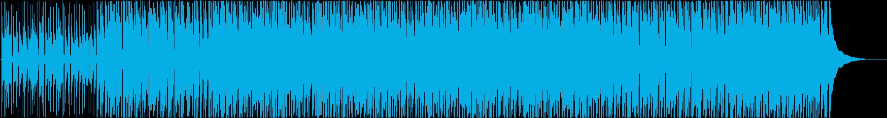 幸せ、子供、ウクレレの再生済みの波形