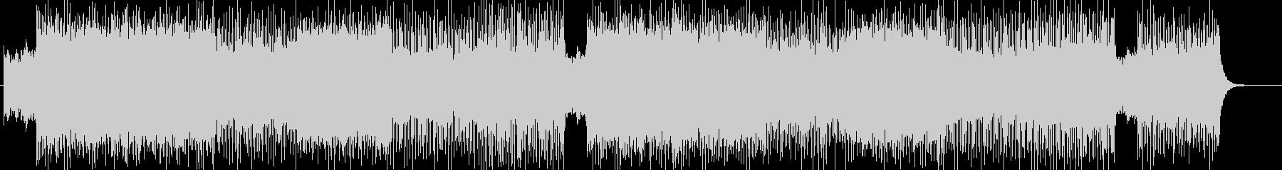 ハードでメタル系より作曲 BGM258の未再生の波形