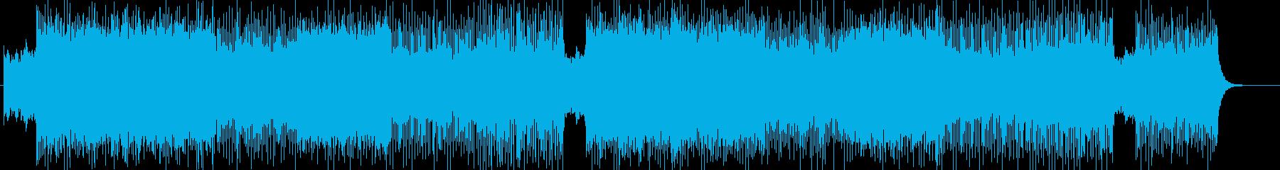 ハードでメタル系より作曲 BGM258の再生済みの波形