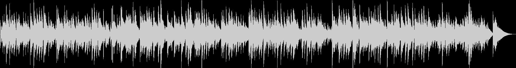 マイ・ボニー ハワイアンリラックスギターの未再生の波形