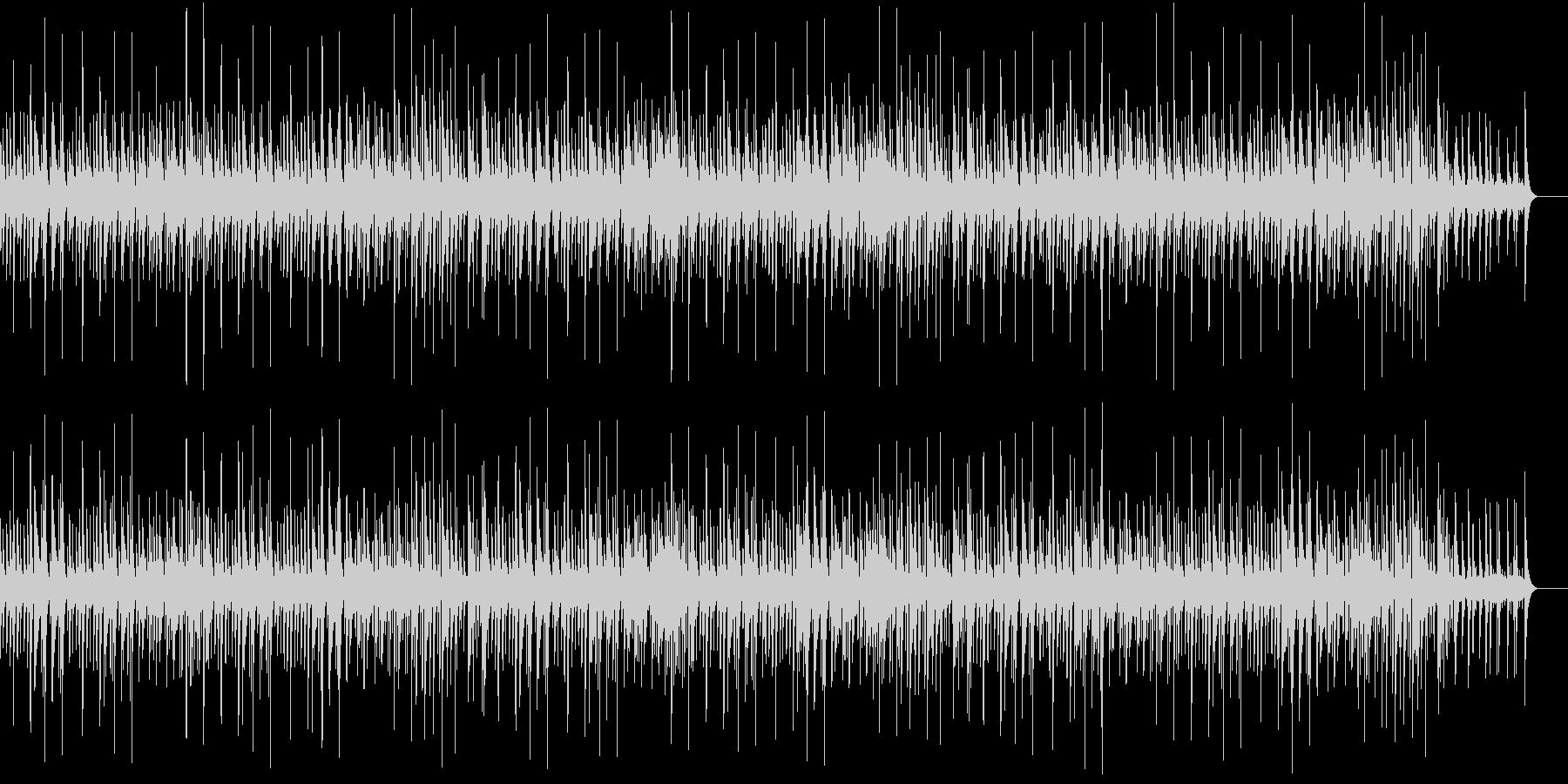 穏やかでエレガントなジャズの未再生の波形
