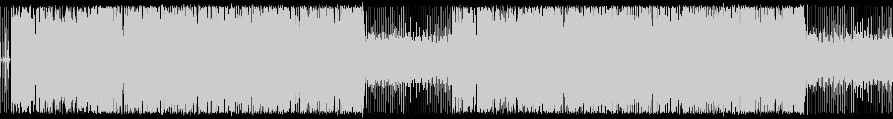 ほのぼのギター入りのbgmの未再生の波形