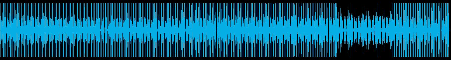 女性ボーカルとギターのヒップホップの再生済みの波形