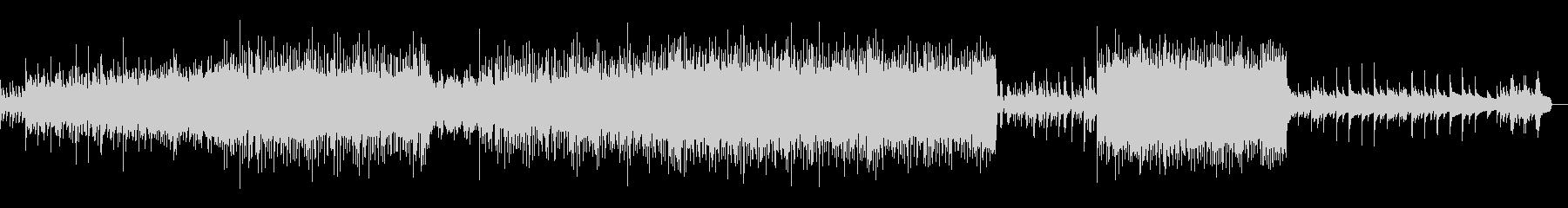 温かいメロディの祝福ストリングスポップの未再生の波形