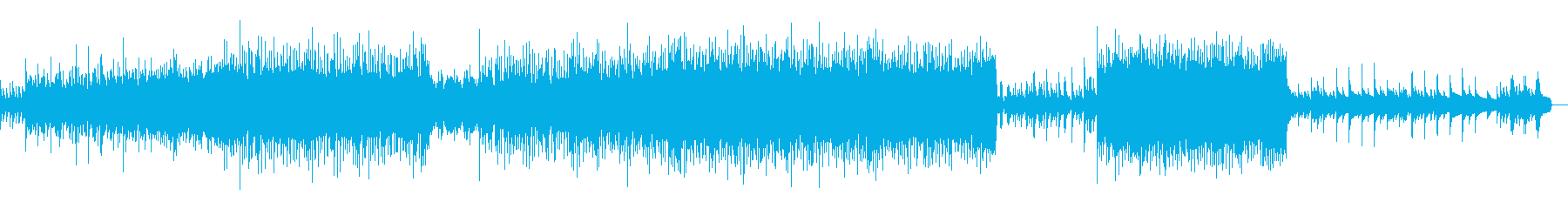 温かいメロディの祝福ストリングスポップの再生済みの波形