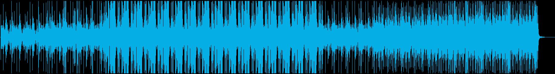 切迫感と着信情報の処理を備えた、深...の再生済みの波形