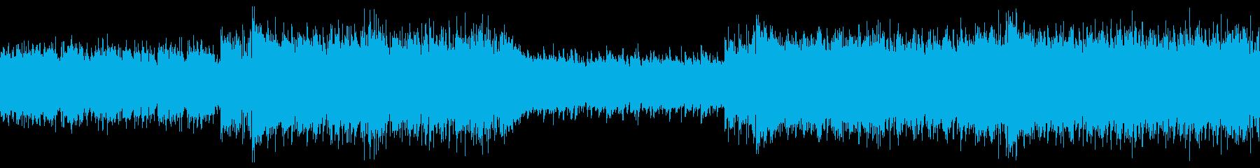 夏のイベントPRにわくわくするディスコの再生済みの波形