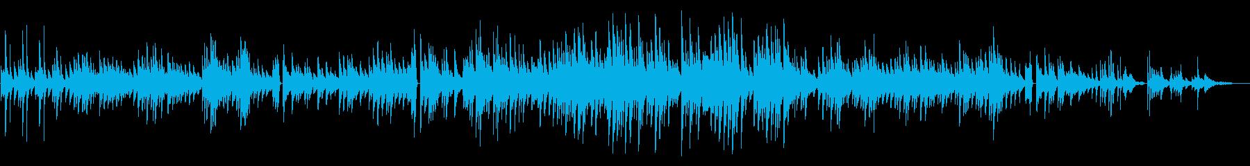 童謡「大きな古時計」チルピアノアレンジの再生済みの波形