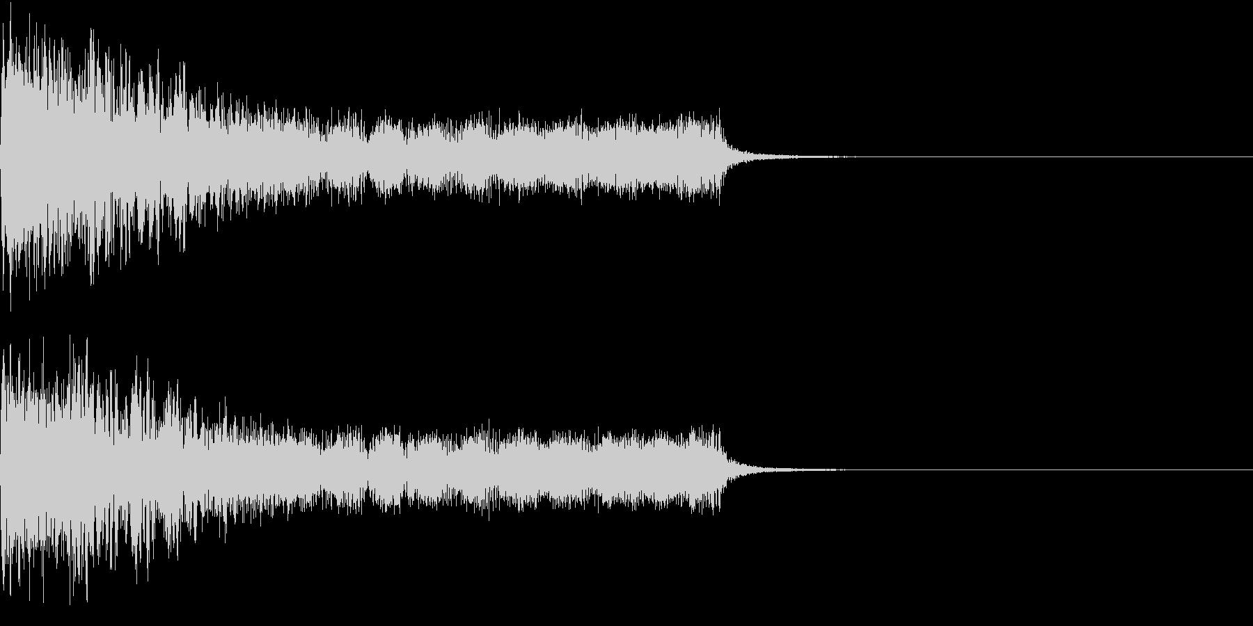 衝撃 ギター インパクト ノイズ 08の未再生の波形