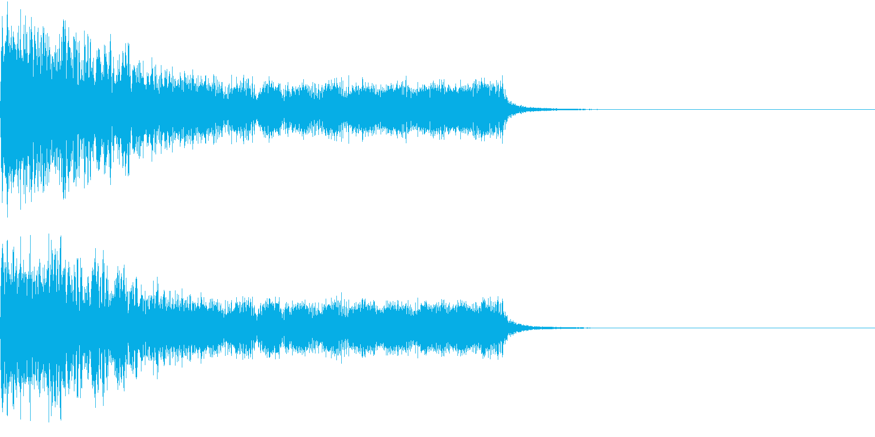 衝撃 ギター インパクト ノイズ 08の再生済みの波形