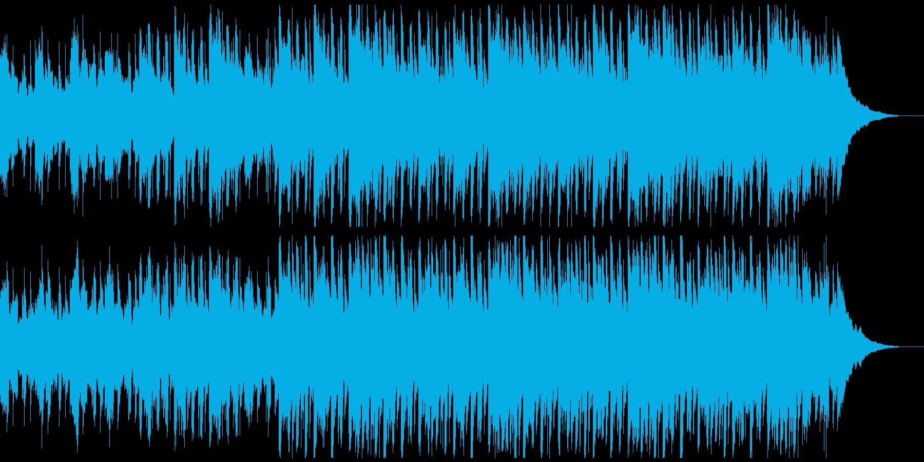 感動的で幸せなアコースティック音楽の再生済みの波形