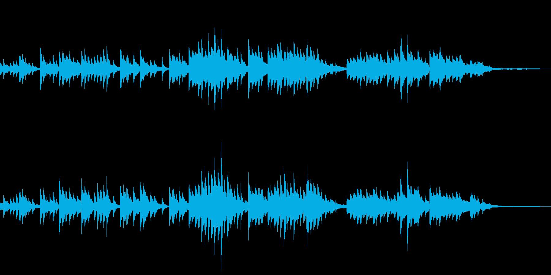 【ストリングス抜き】語り、回想シーンに合の再生済みの波形