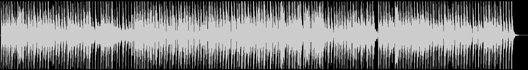ほのぼのコミカルな曲の未再生の波形