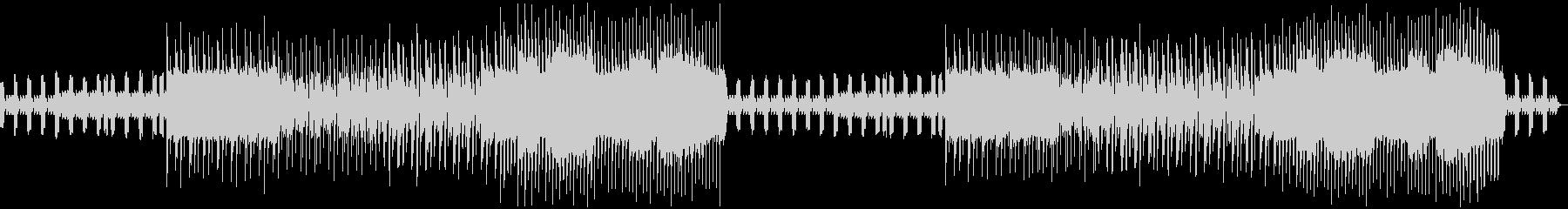 耳に残るピコピコ音のゲーム向きのBGMの未再生の波形