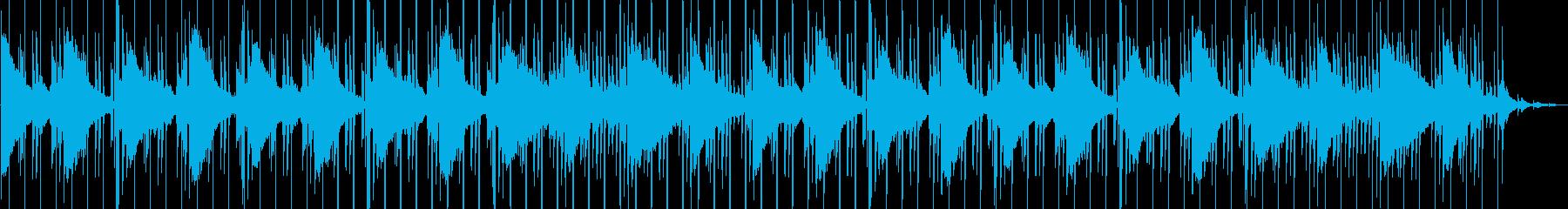 雨(Lo-Fi・おしゃれ・都会的・夜)の再生済みの波形