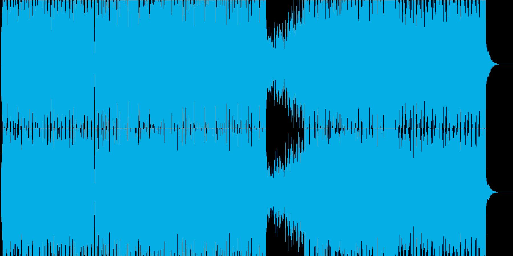 【歌モノ男】アコギの切ない失恋ソングの再生済みの波形