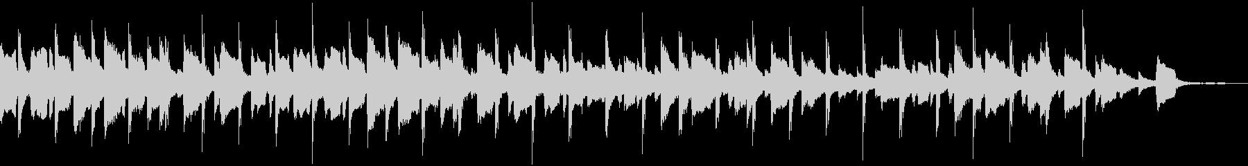 ウクレレリコーダーの明るい楽曲ドラム無短の未再生の波形