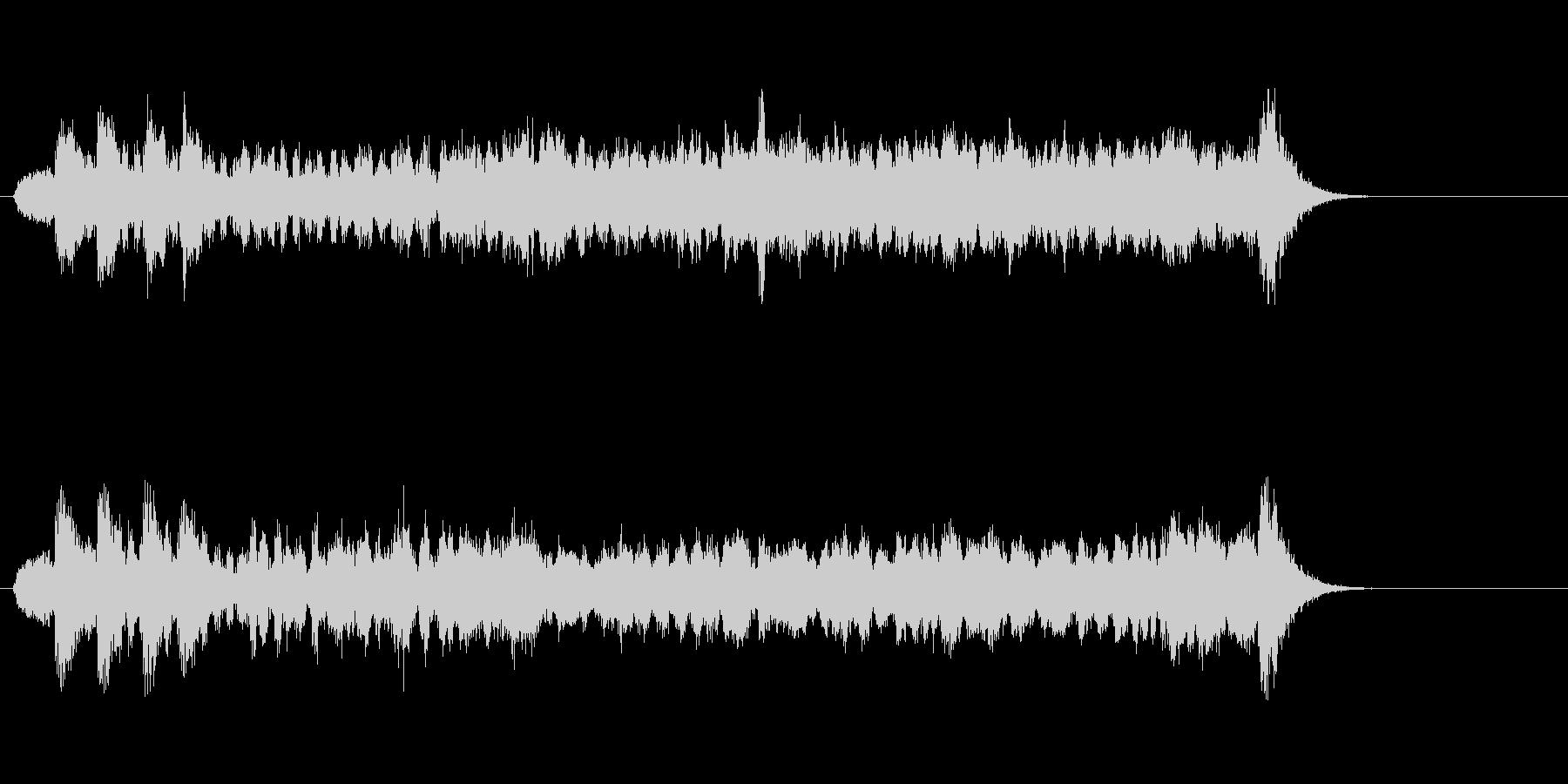 テーマ19:代替ミックスの未再生の波形