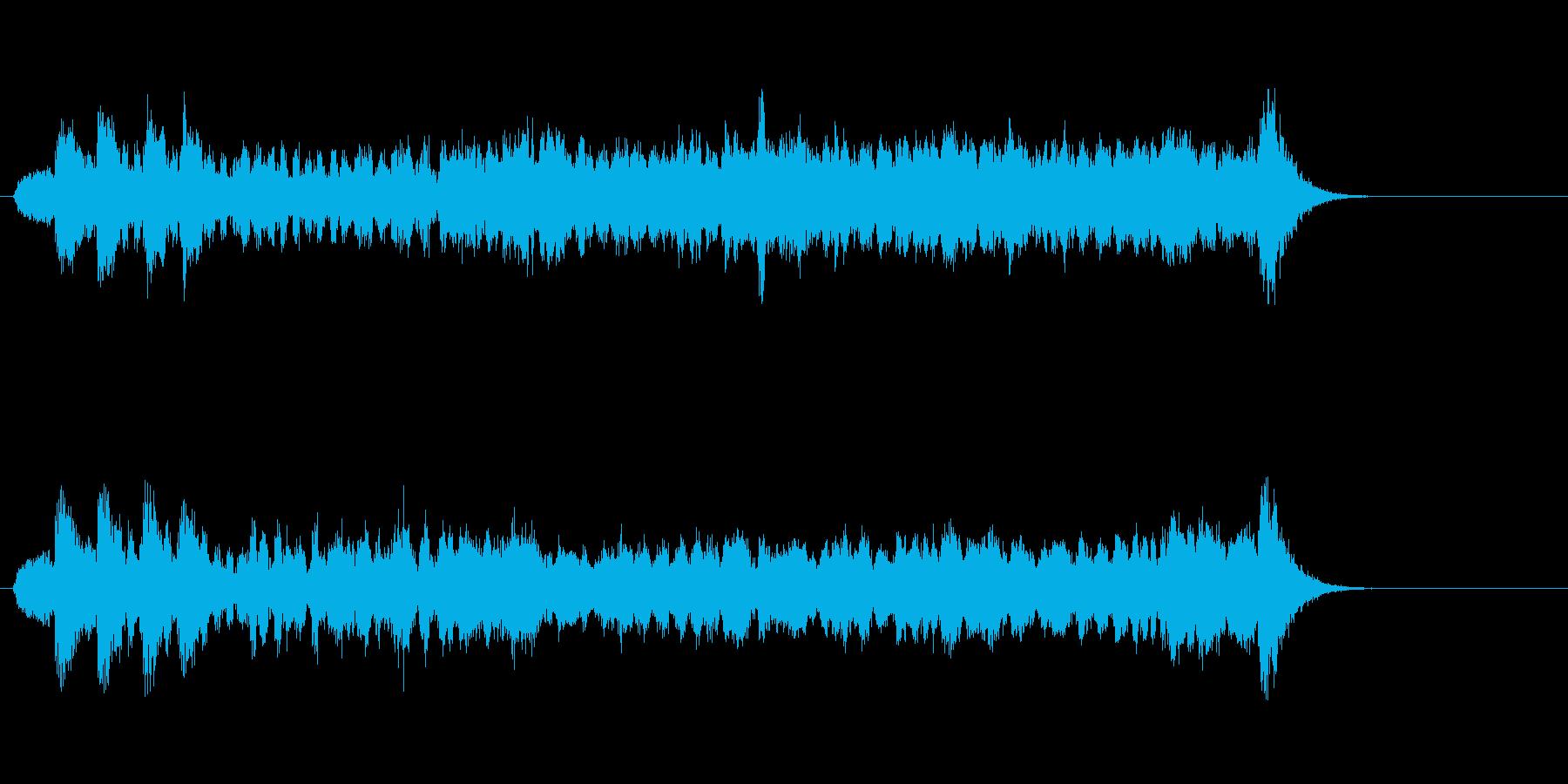 テーマ19:代替ミックスの再生済みの波形