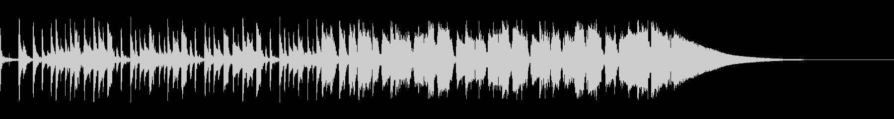 【生音】ピースフルな雰囲気のギターポップの未再生の波形