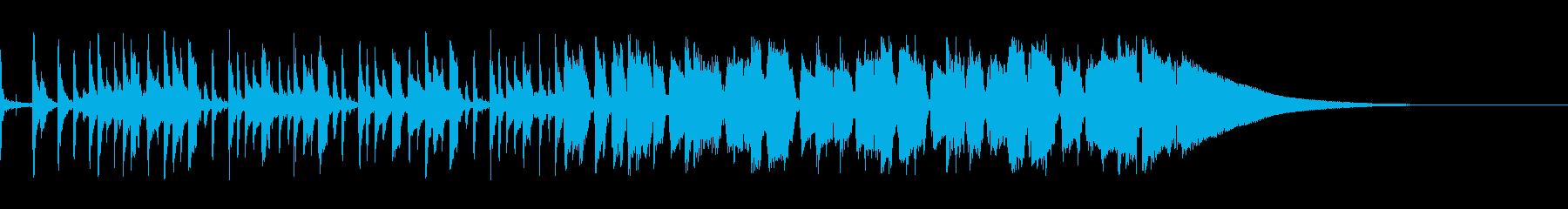【生音】ピースフルな雰囲気のギターポップの再生済みの波形