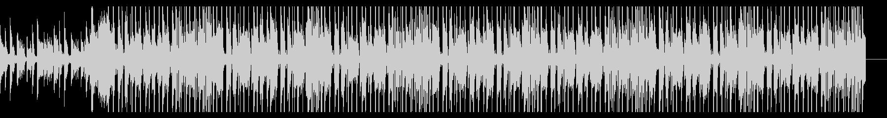 クールな洋楽風ポップスの未再生の波形