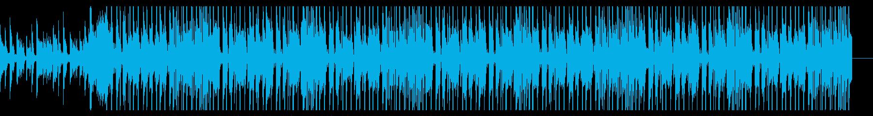 クールな洋楽風ポップスの再生済みの波形