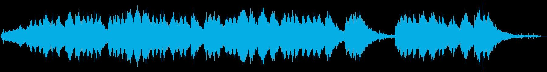 チェーンソー-回転とオフの再生済みの波形