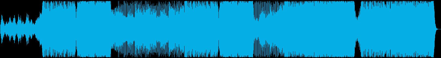 アスリートの集中力を高める勝負曲の再生済みの波形