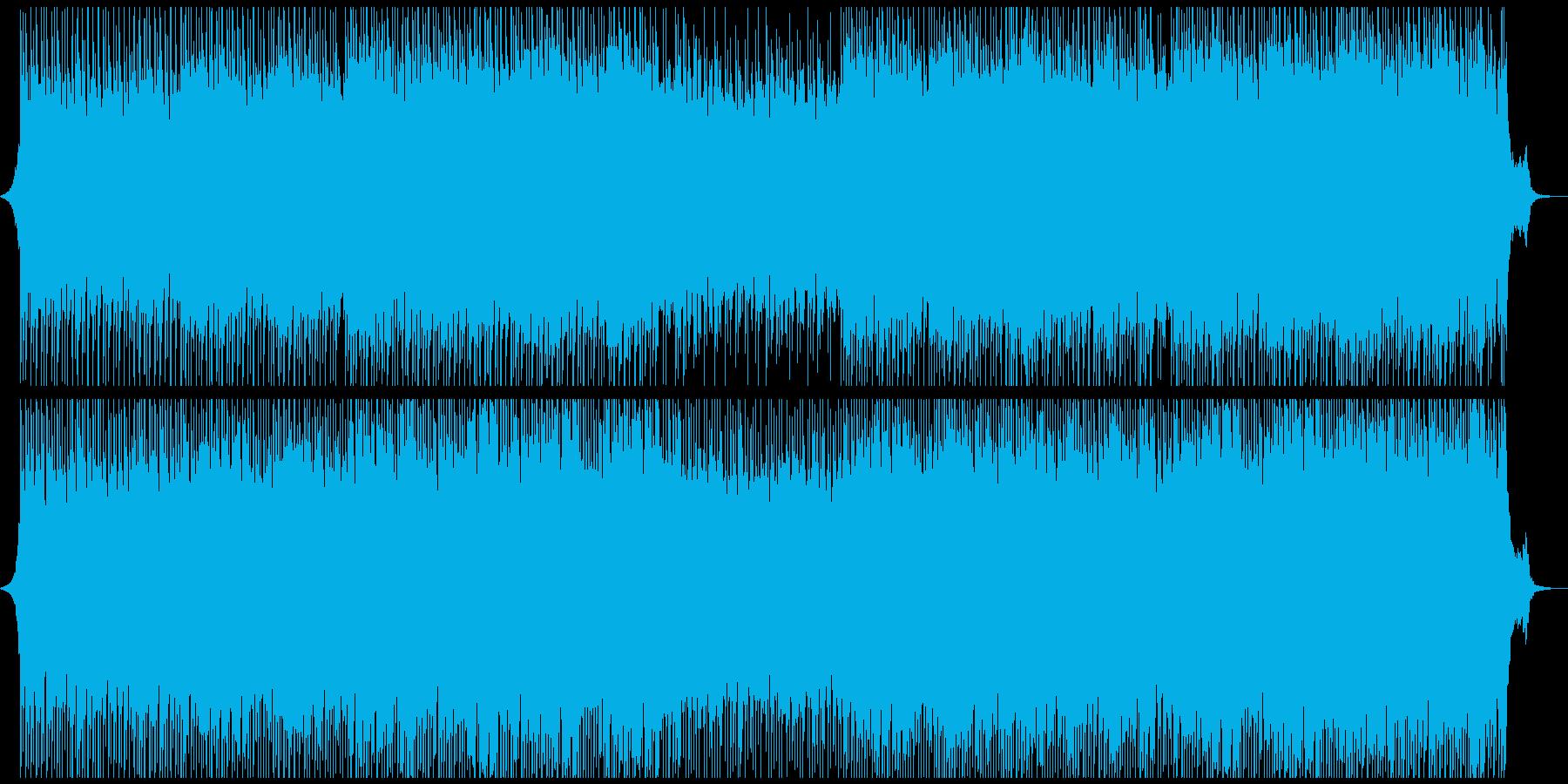 ハピネスコーポレートの再生済みの波形