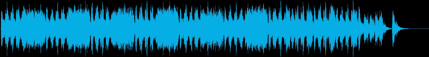 ハロウィン ホラー モンスターBGM 2の再生済みの波形