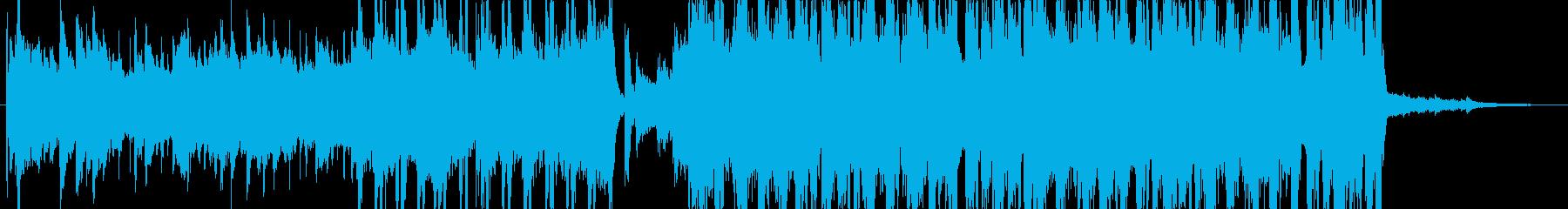 ジングル - キラキラなポップスの再生済みの波形
