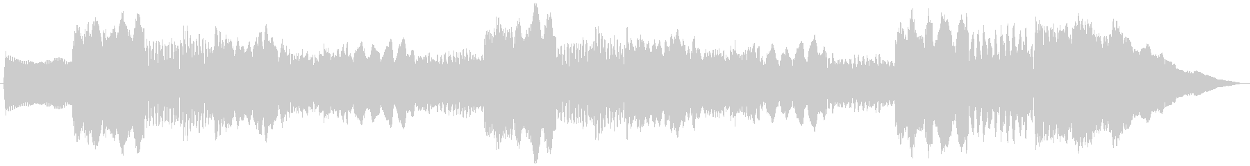 5秒CM用、サウンドロゴverAの未再生の波形