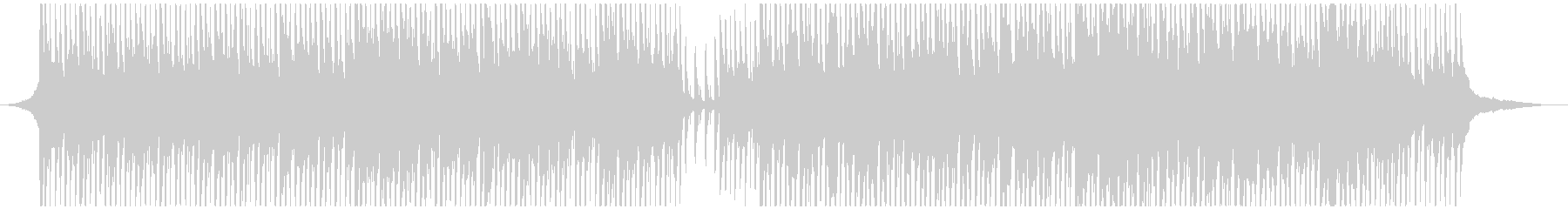 ノスタルジックな口笛メロディの曲の未再生の波形