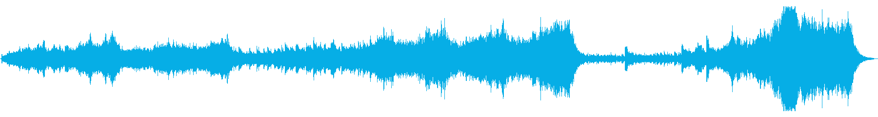 大自然壮大オケ 60秒 per無の再生済みの波形