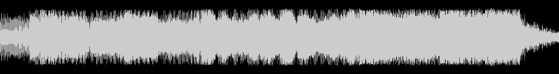 低音の連続、増幅そして解放の未再生の波形