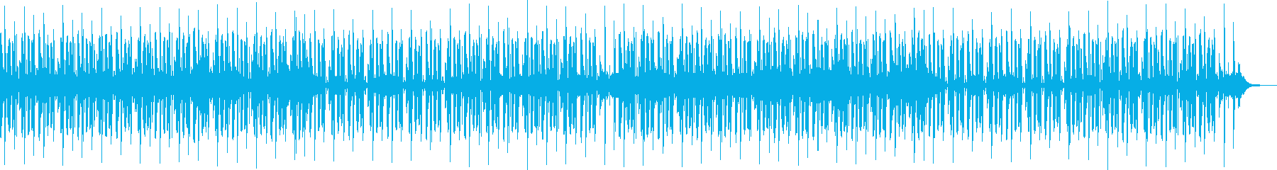 YouTubeエンディング・CM・EDMの再生済みの波形
