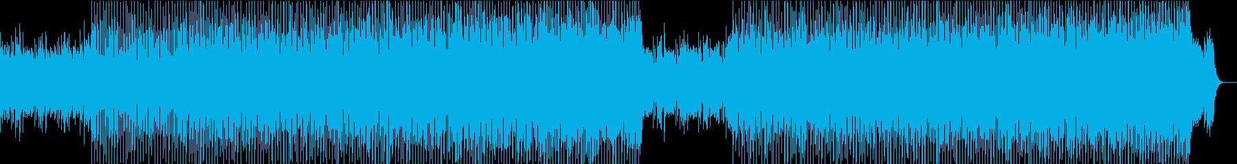 エキゾチックな雰囲気のチル系エレクトロの再生済みの波形