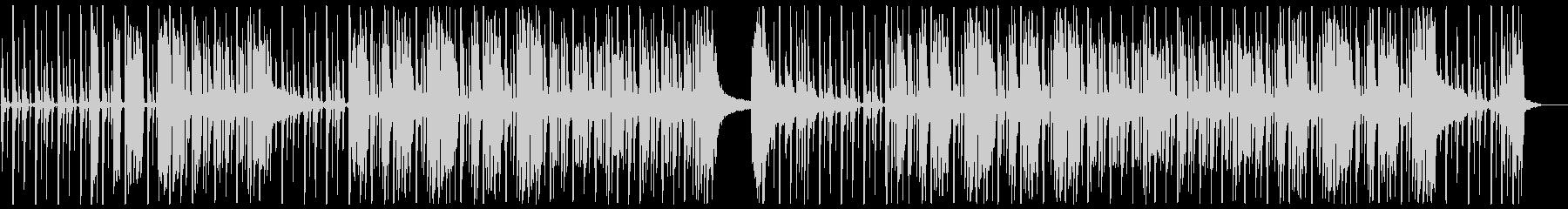 エレクトロとオーケストラの両方の要...の未再生の波形
