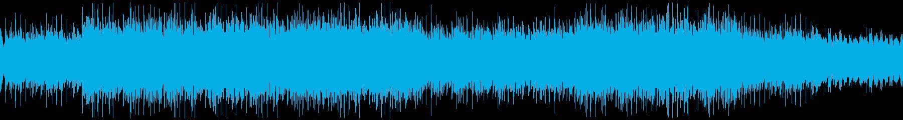 クールでアーバンなムードのアンビエントの再生済みの波形
