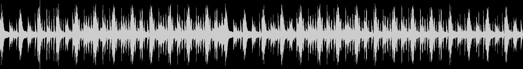おしゃれ・感動的・都会的・ピアノサウンドの未再生の波形