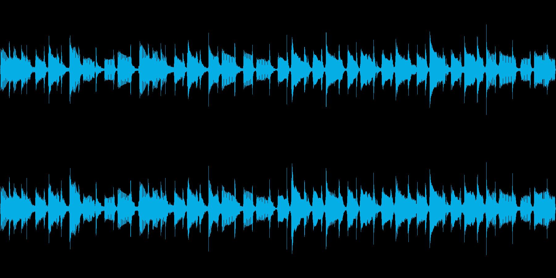 【32秒】シンプルなウクレレバンド曲の再生済みの波形