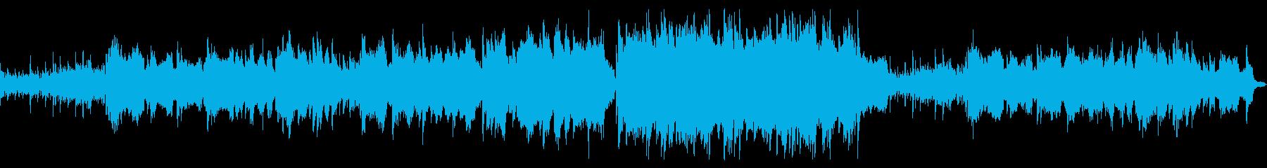 【ループ版】バイオリン 感動的の再生済みの波形