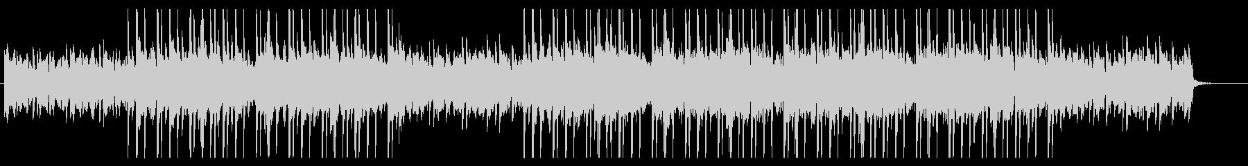 おしゃれなピアノ ギターHipHopの未再生の波形