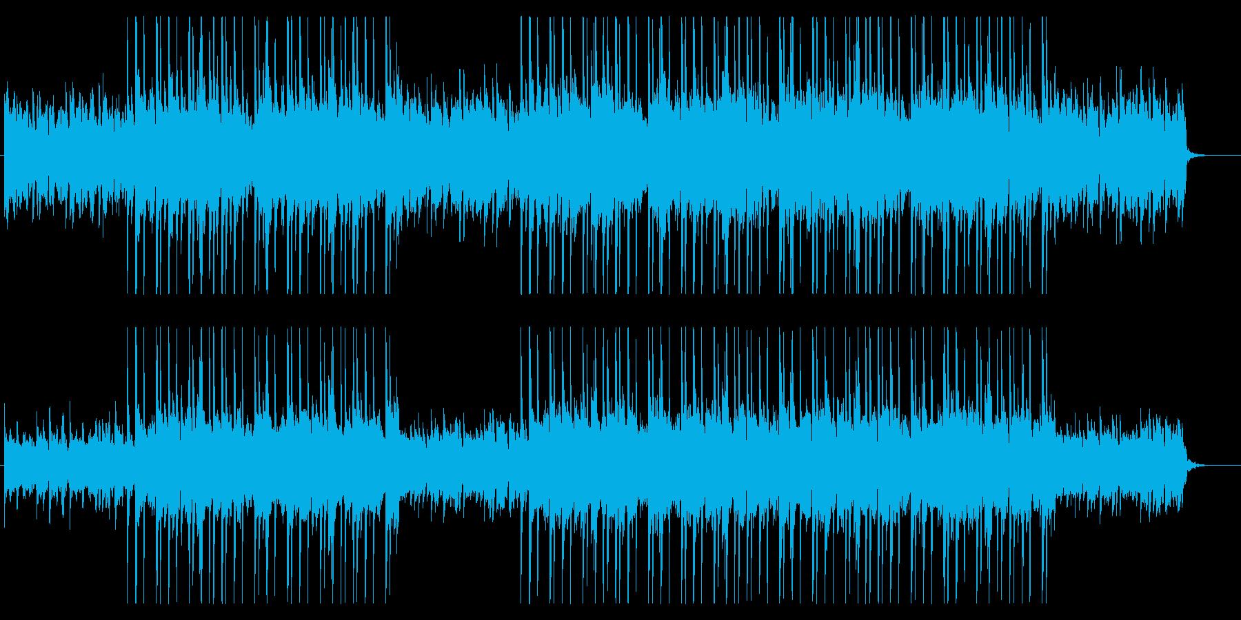 おしゃれなピアノ ギターHipHopの再生済みの波形