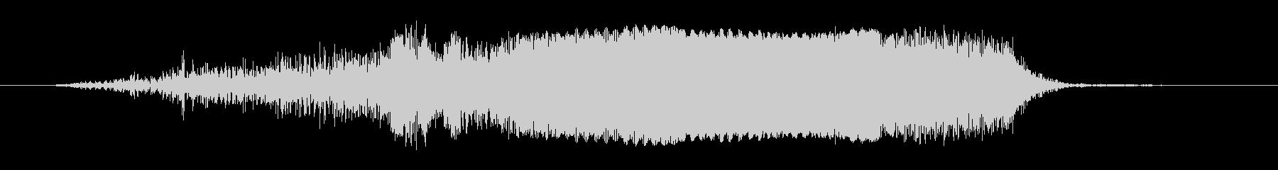 ノイズ ぐらつきグリッチライザーシ...の未再生の波形