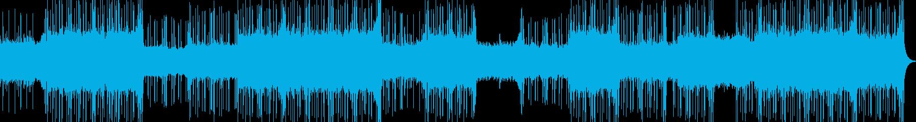 シンセループが基調のオリエンタルテクノの再生済みの波形