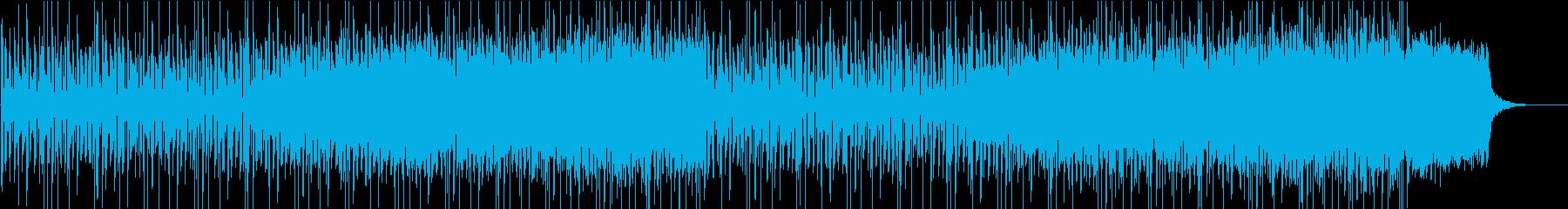 戦う人応援ソングの再生済みの波形