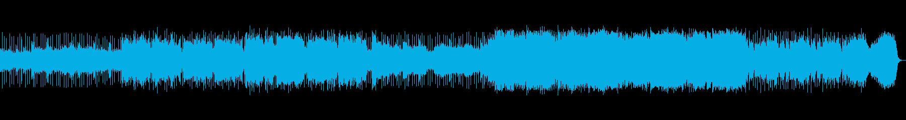 幻想的なシーンにあうBGMの再生済みの波形